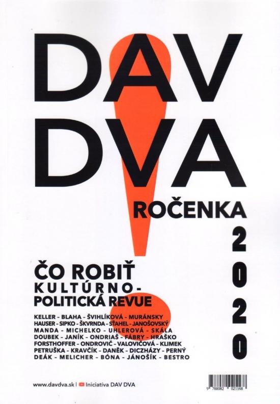 DAV DVA ročenka 2020 - Kolektív autorov