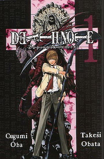 Death Note - Zápisník smrti 1 - 2.vydání - Oba Cugumi, Obata Takeši