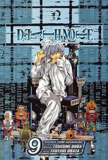 Death Note - Zápisník smrti 9 - Oba Cugumi, Obata Takeši