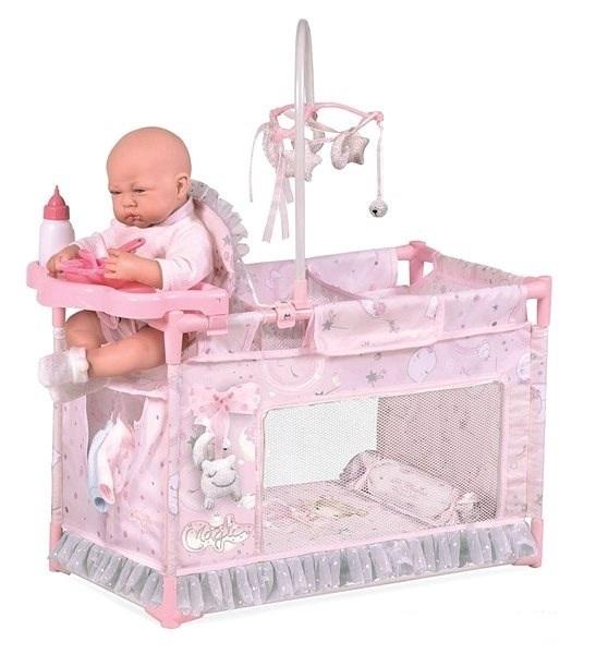 DECUEVAS TOYS - 53134 Moja prvá postieľka pre bábiky s doplnkami Magic maria 2020