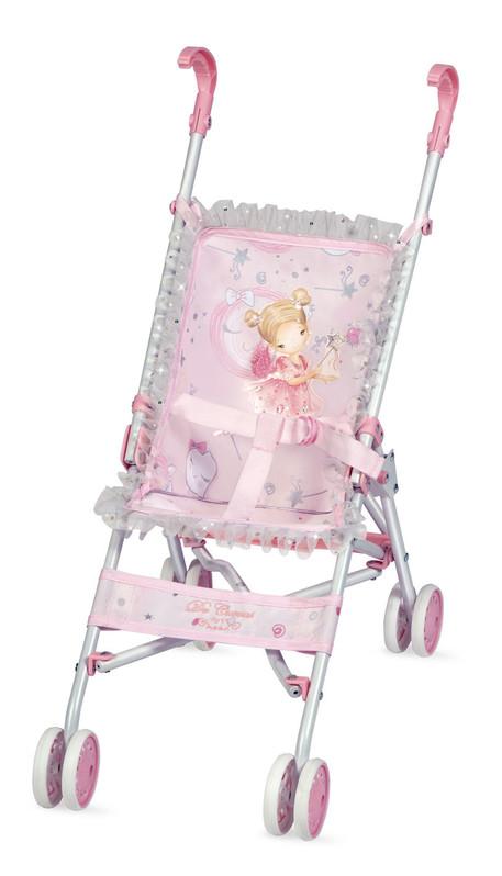 DECUEVAS TOYS - 90034 Skladací kočík pre bábiky - golfové palice Magic Maria 2020 - 56 cm