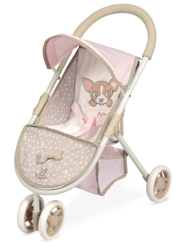 DECUEVAS TOYS - 90243 Športový kočík pre bábiky trojkolesový DIDI 2021