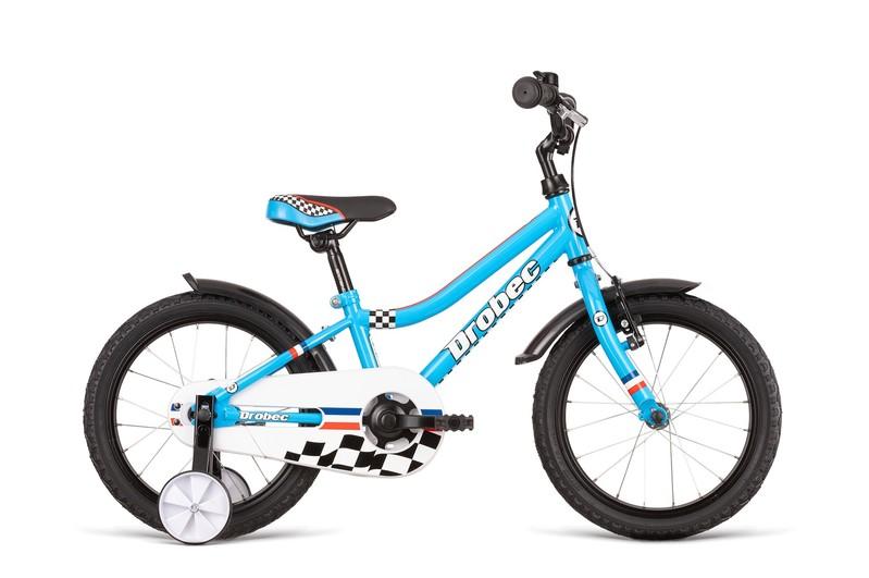 DEMA - Bicykel Drobec 16 blue