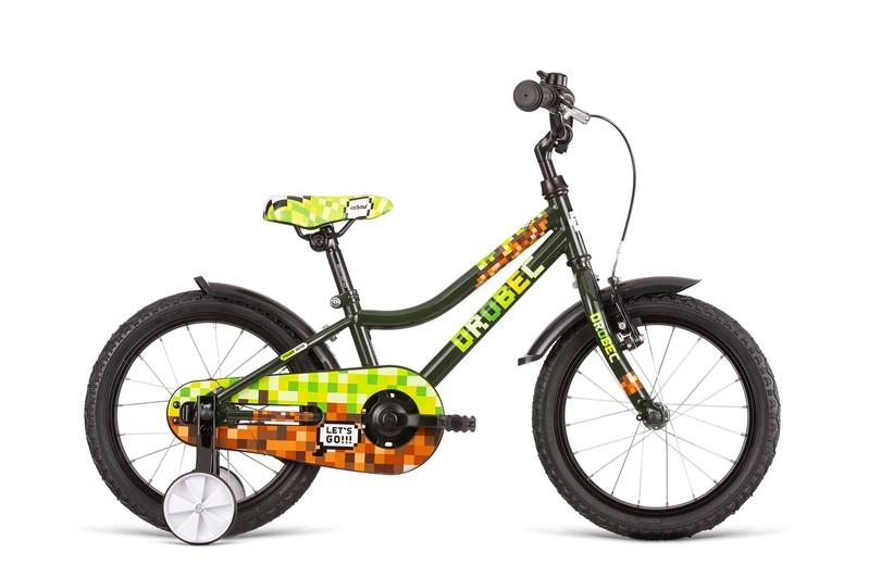 DEMA - Bicykel Drobec 16 olive