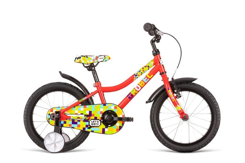 DEMA - Bicykel Drobec 16 red
