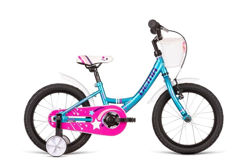 DEMA - Bicykel ELLA 16 turquoise