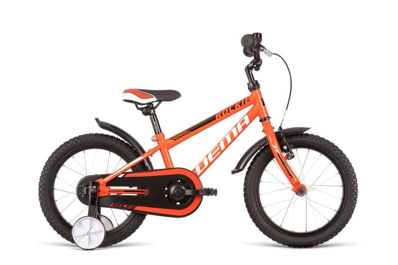 DEMA - Bicykel ROCKIE 16 red