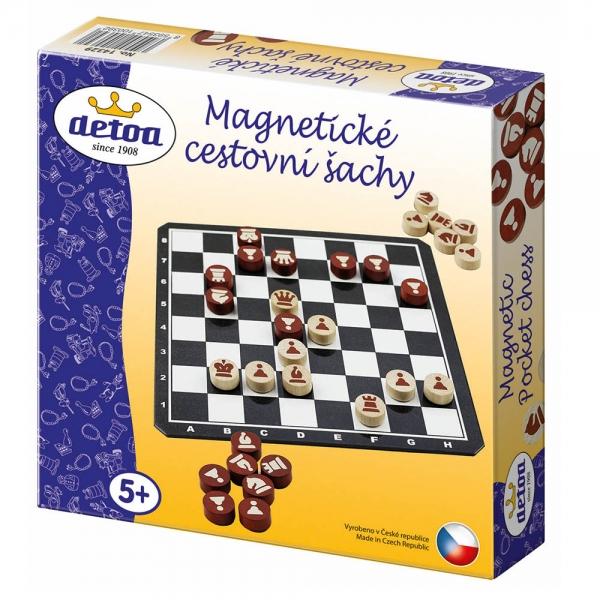 DETOA - Šach magnetické cestovné