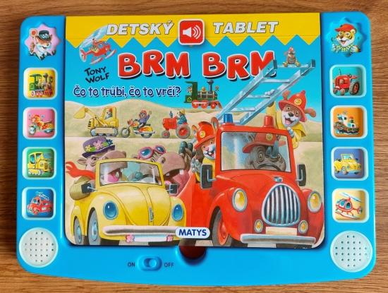 Detský tablet – Brm brm - Tony Wolf