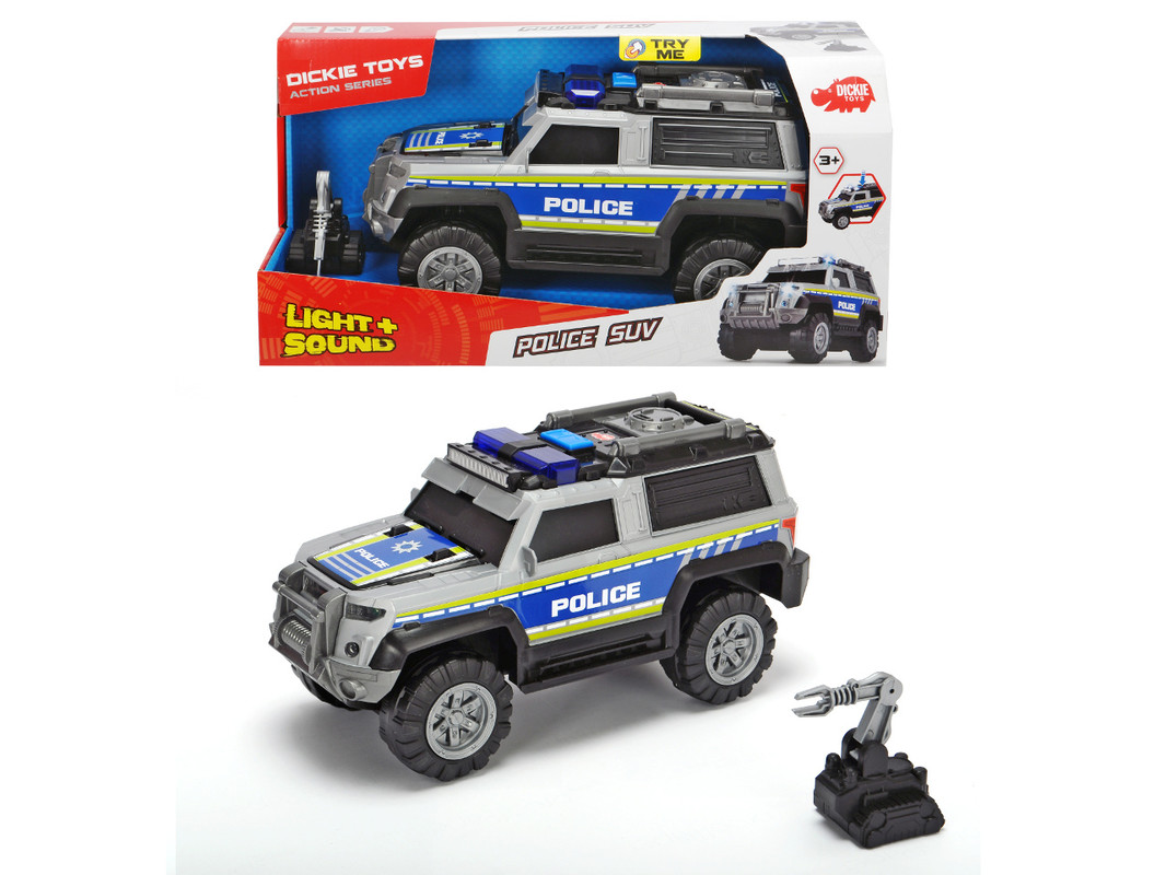 DICKIE - Action Series Polícia Auto SUV 30cm