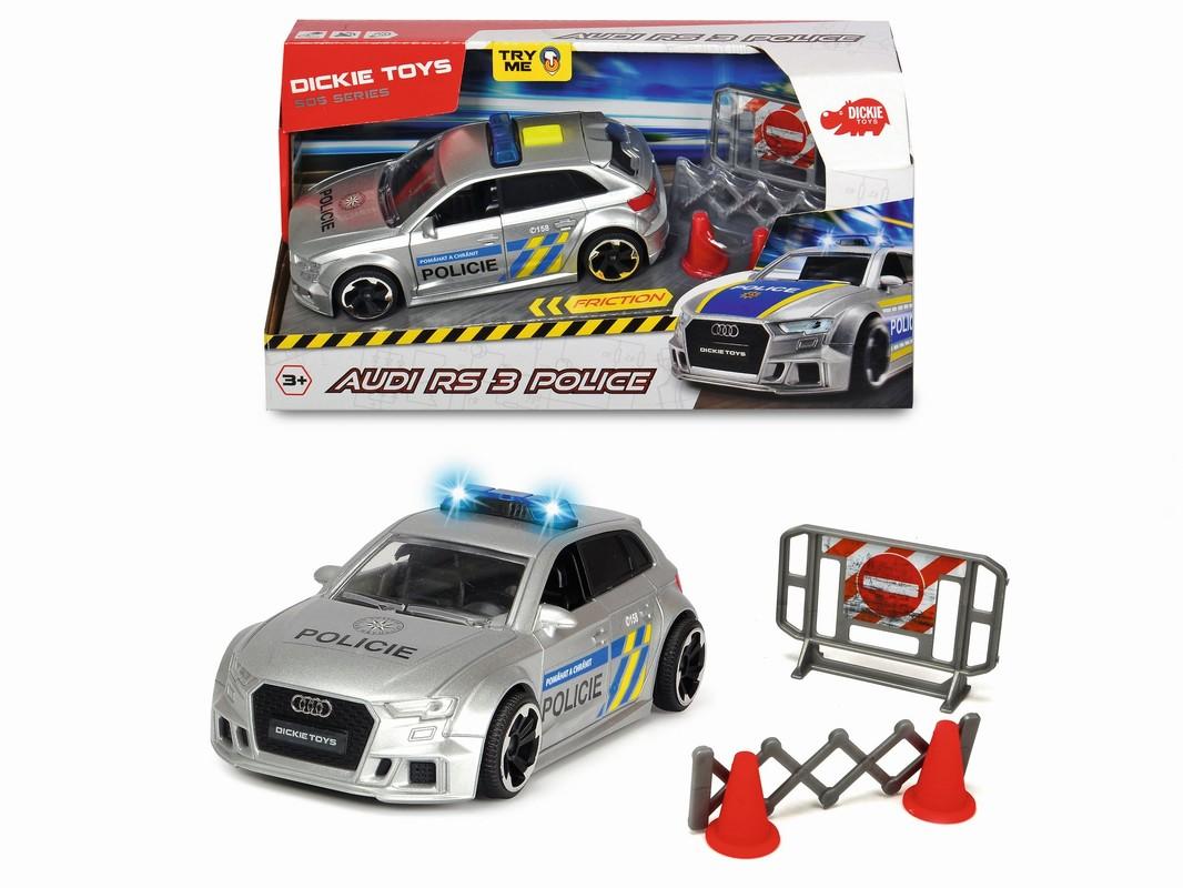 DICKIE - Audi Rs3 Polícia, česká verzia