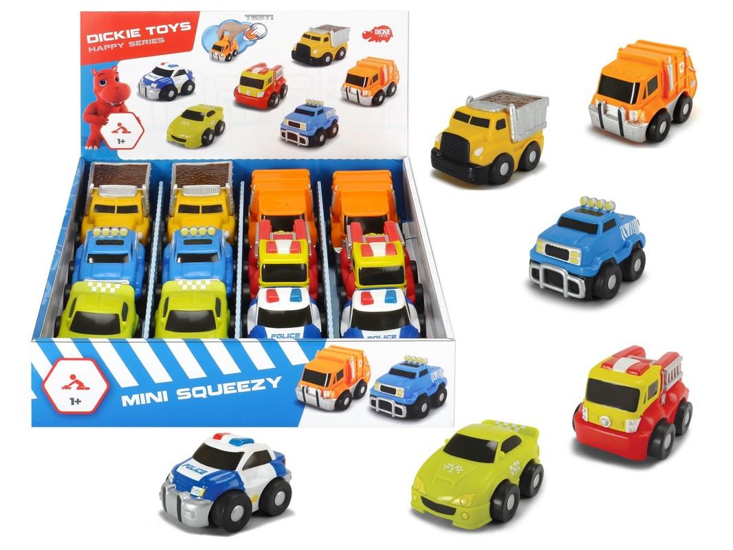 DICKIE - Auto Happy Mini Squeezy 9 cm, Dp12