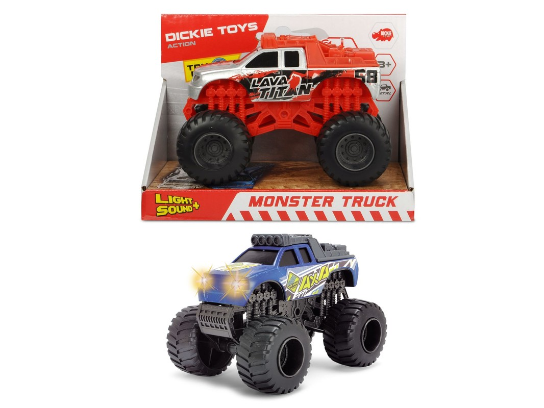 DICKIE - Monster Truck 15 cm, 2 druhy