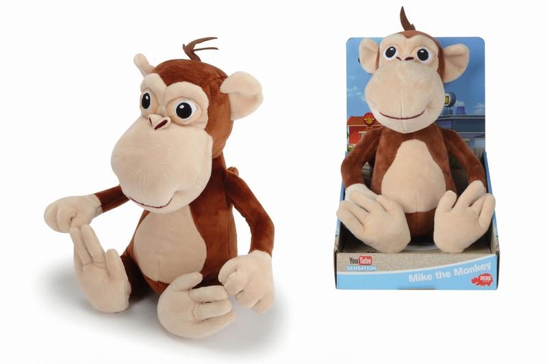 DICKIE - Statočné autíčka plyšový opičiak