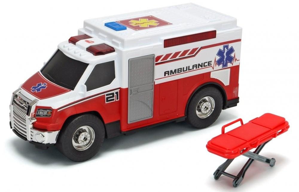 DICKIE TOYS - 3306007 Ambulancia 30 cm
