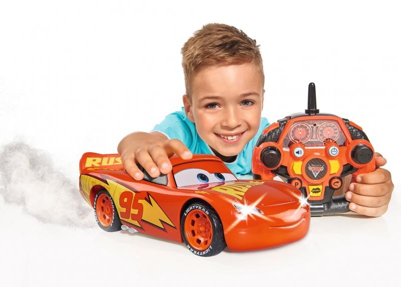 DICKIE TOYS - Dickie RC Cars 3 Feature Blesk McQueen 3086009