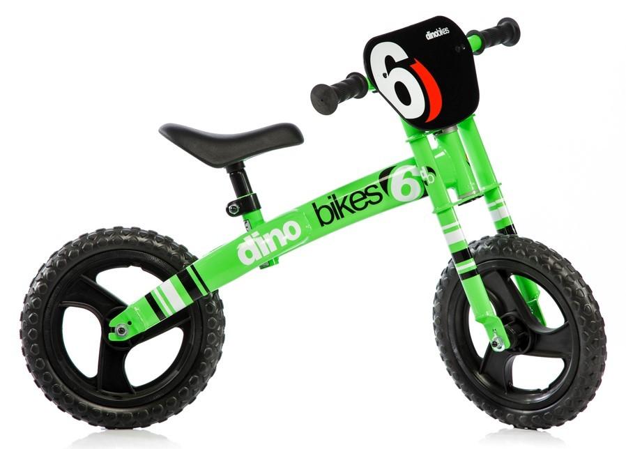 "DINO BIKES - Detské odrážadlo 12"" Runner 150R01 zelený"