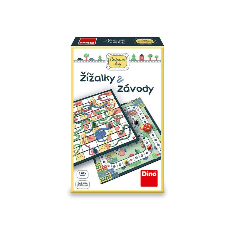 DINO - Dážďovky & Preteky Cestovná Hra
