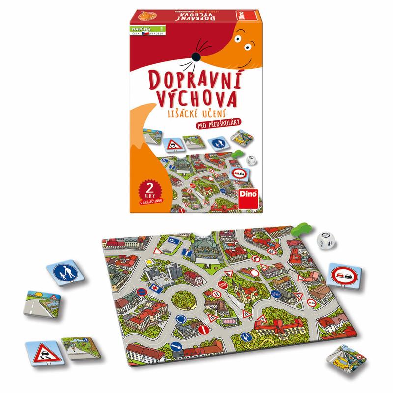 DINO - Dopravná výchova náučná hra