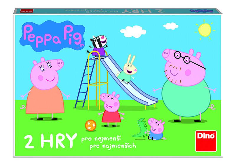 DINO - Peppa Pig Poďme Sa Hrať A Šmýkačky Detská Hra