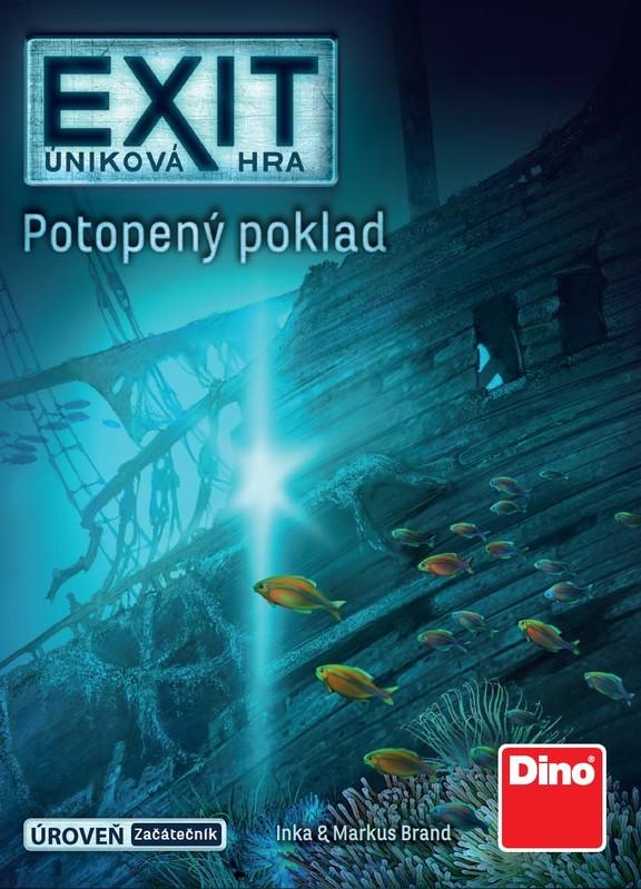 DINO - Úniková Hra: Potopený Poklad Párty Hra