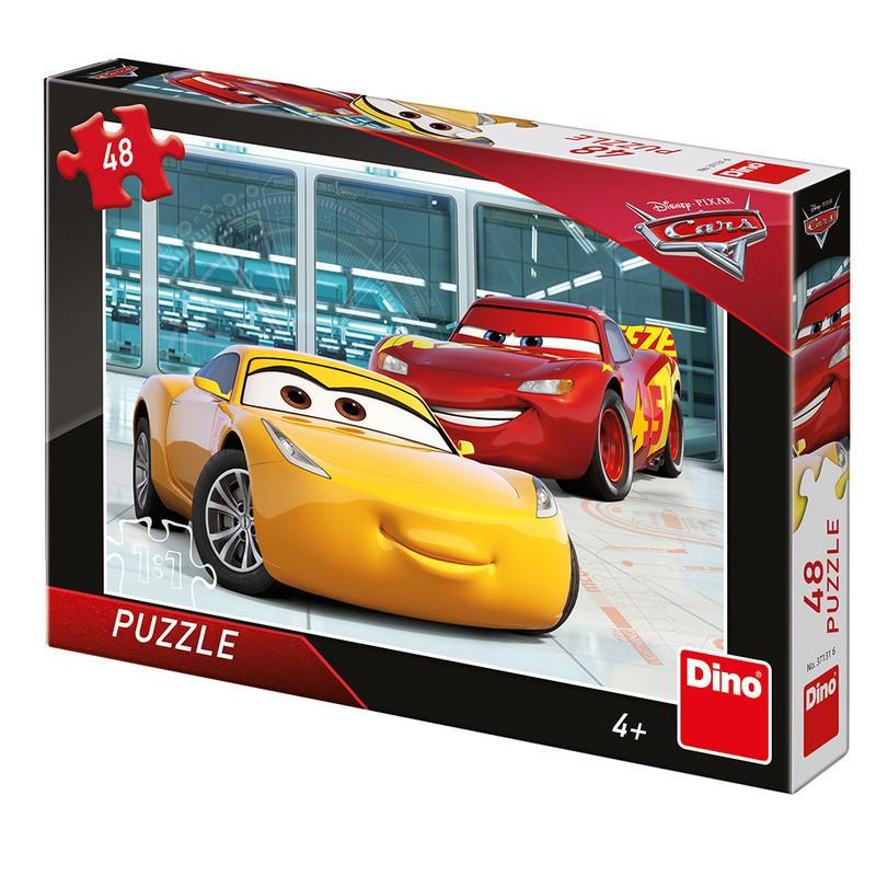 DINO - Walt Disney Cars 3: Príprava 48 dielikov