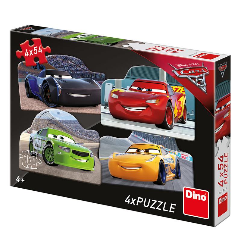 DINO - Walt Disney Cars 3: Rivali 4x54 dielikov