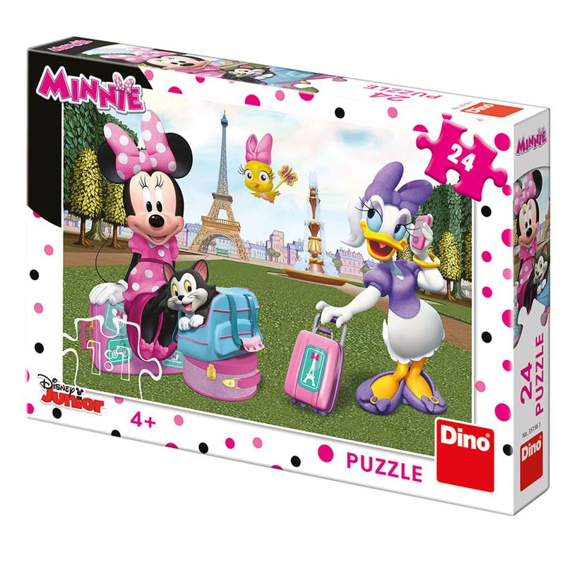 DINO - Walt Disney Minnie v Paríži 24 dielikov