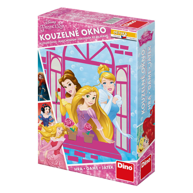 DINO - Walt Disney Princezné: Kúzelné Okno Hra Detská