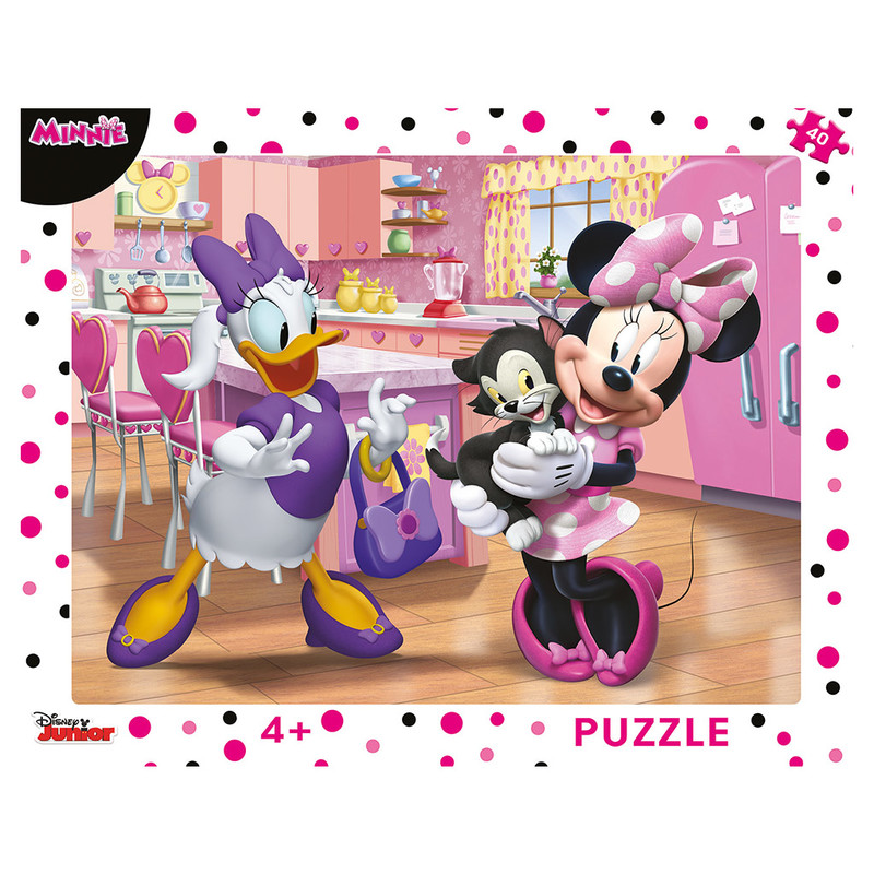 DINO - Walt Disney Ružová Minnie 40D doskové