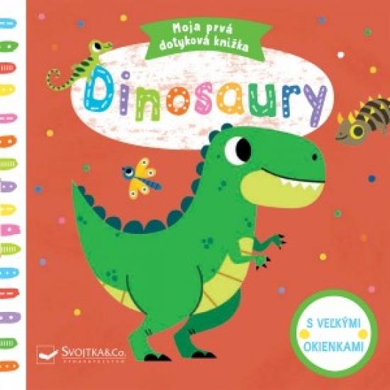 Dinosaury- Moja prvá dotyková knižka - Tiago Americo