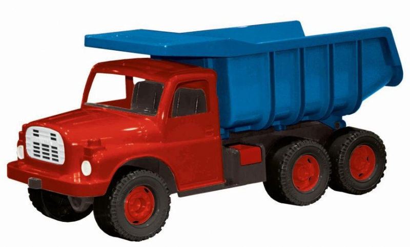 DINOTOYS - Auto Tatra 148 modro-červené, plastové