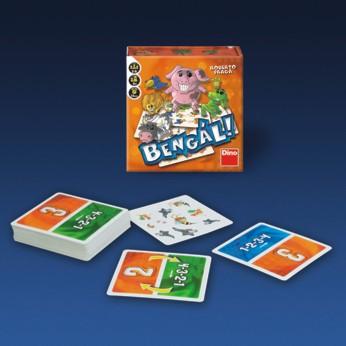 DINOTOYS - Bengál kartová hra pre deti