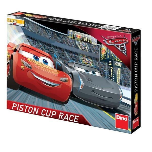 DINOTOYS - Cars 3 Piston Cup Race, Spoločenská hra