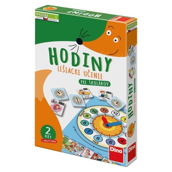 DINOTOYS - Hra Hodiny