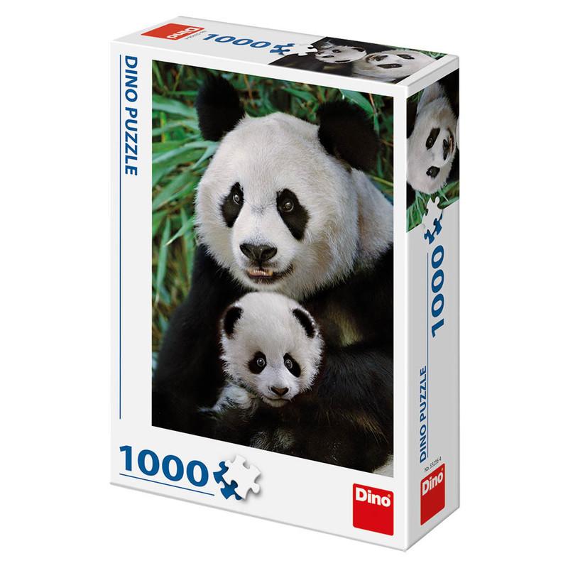 DINOTOYS - PANDIA RODINA 1000 Puzzle