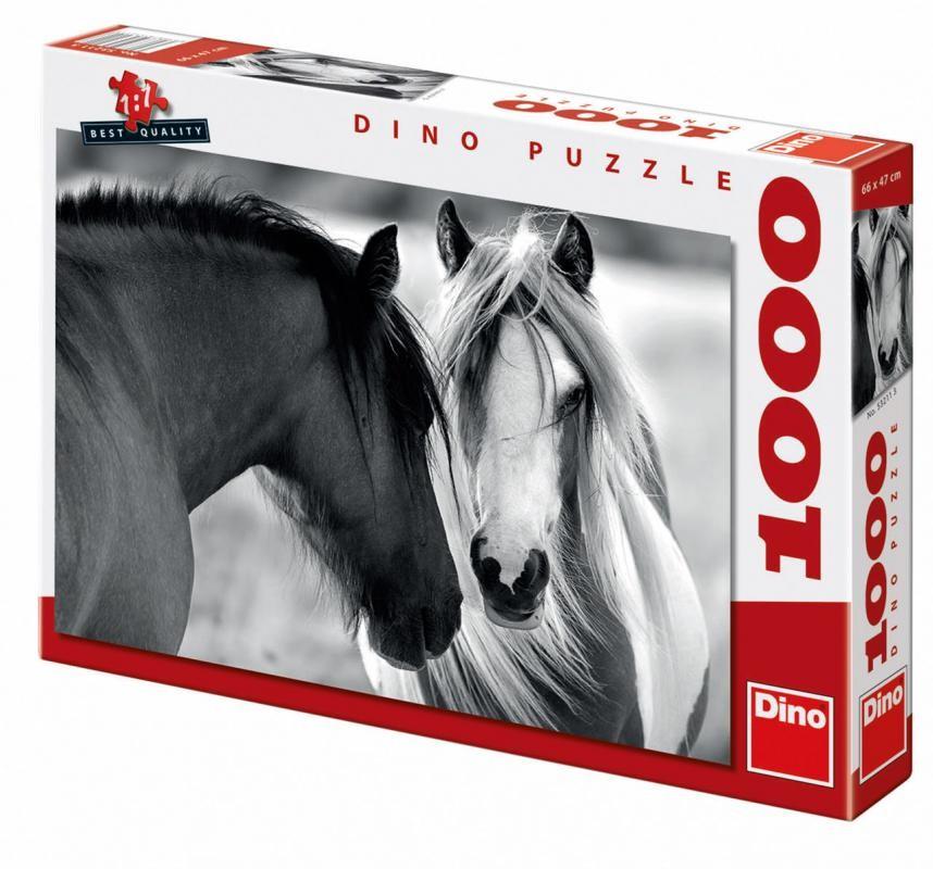 DINOTOYS - Puzzle Dino Kone 1000