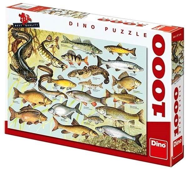 DINOTOYS - Puzzle Dino Ryby 1000