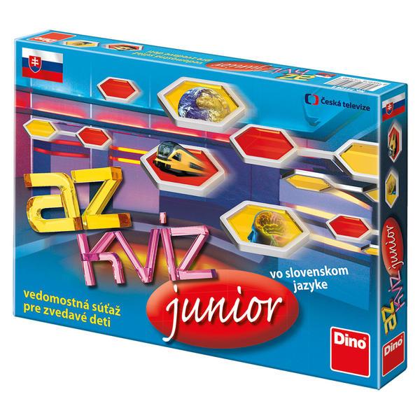 DINOTOYS - Spoločenská hra AZ Kvíz Junior - Sk