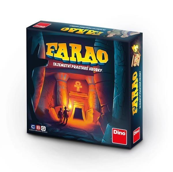 DINOTOYS - Spoločenská hra Farao tajomstvo prastarej hrobky