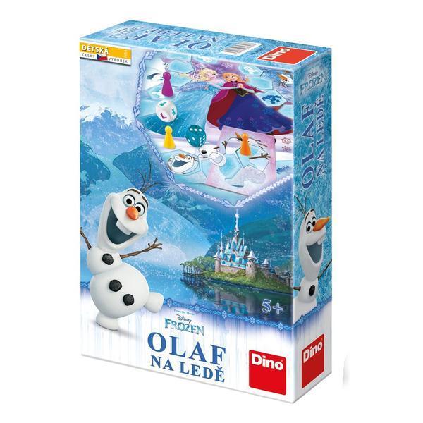 DINOTOYS - Spoločenská hra Olaf na ľade