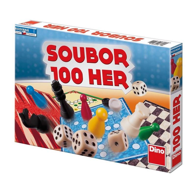 DINOTOYS - SÚBOR 100 HIER Rodinná hra