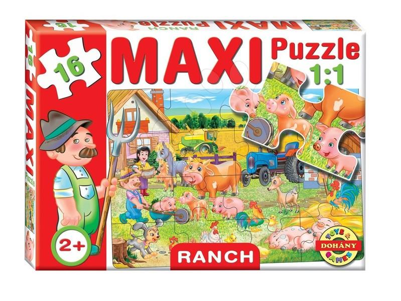 DOHÁNY TOYS - Maxi puzzle pre najmenších 16ks