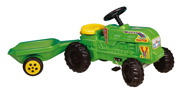 DOHÁNY TOYS - Traktor šlapací