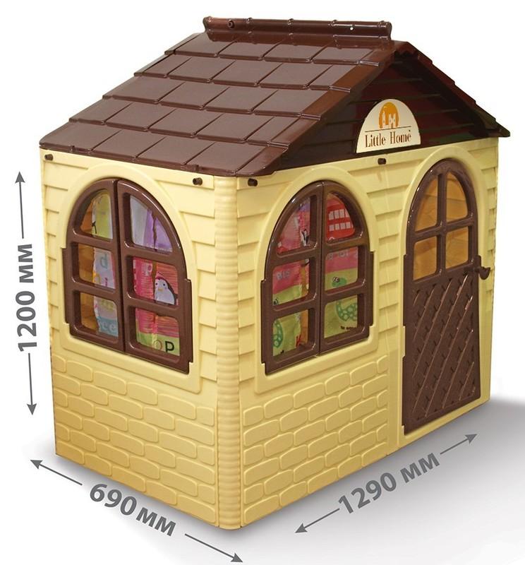 DOLONI - Domček pre deti krémový menší