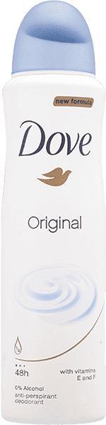 DOVE - Deo sprej Original dámsky antiperspirant 150ml Dove