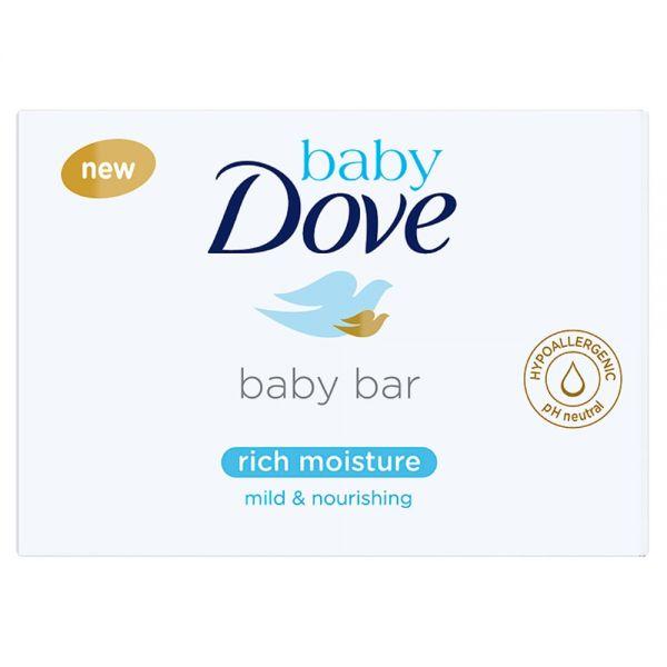 DOVE - Tableta na umývanie krémová 75g Baby Dove