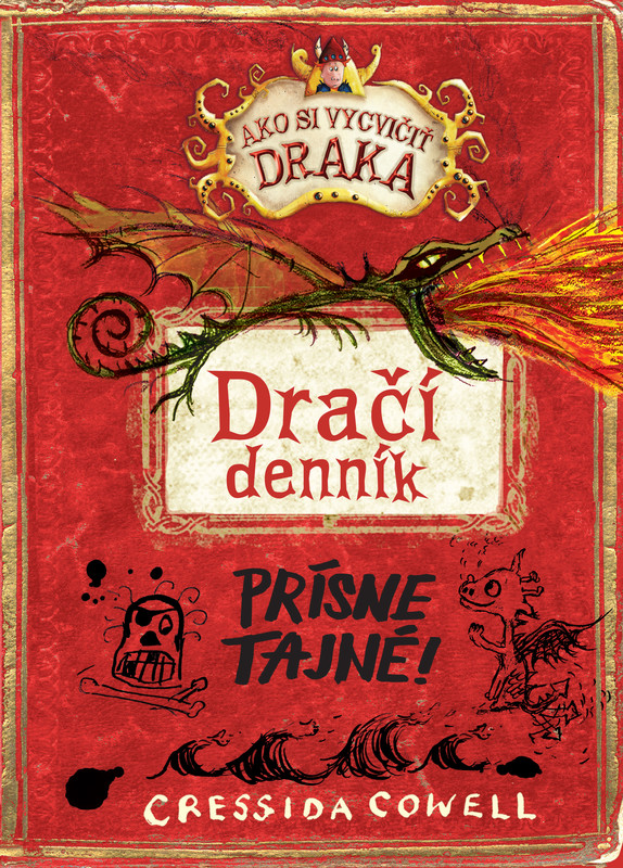 Dračí denník (Ako si vycvičiť draka) - Cressida Cowell