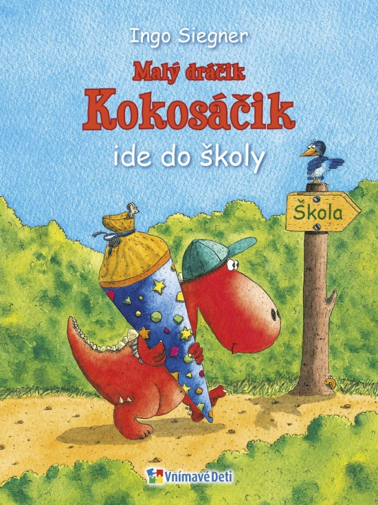 Dráčik Kokosáčik 1: Malý dráčik Kokosáčik ide do školy - Siegner Ingo