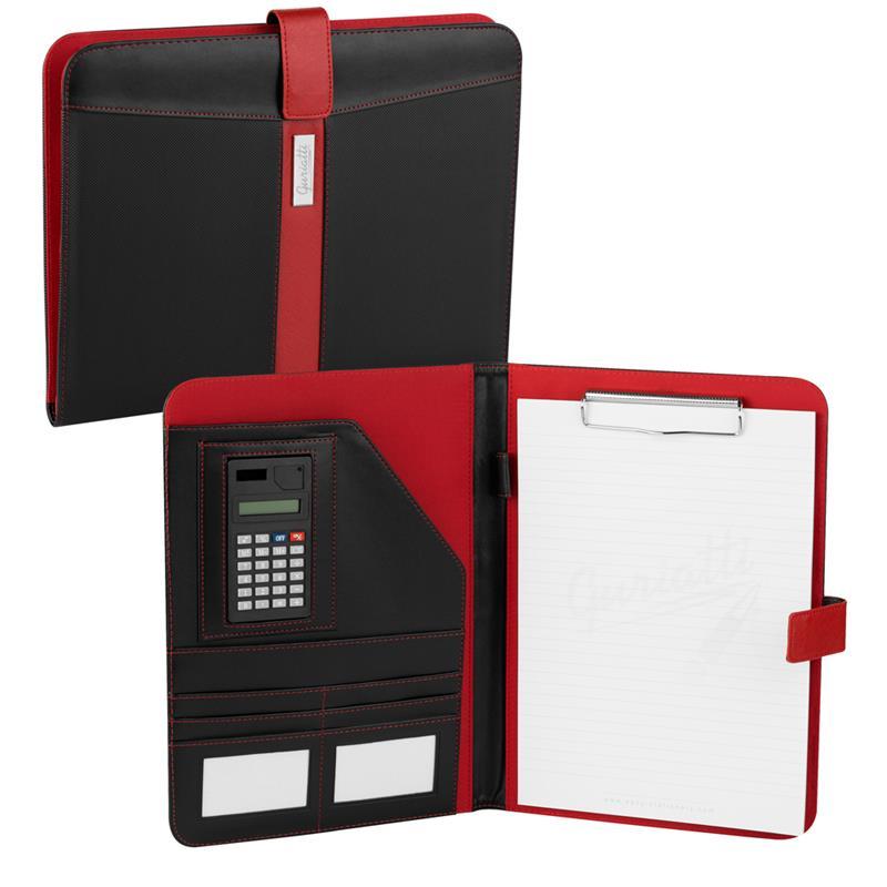 EASY - Obchodné zložky / diplomatka Guriatti Evident A4-B-11-G čierno-červené